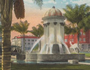 Wilde Fountain 1909